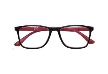 Immagine di Occhiale lettura Zippo +1.00 nero-rosso