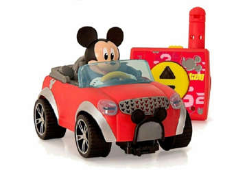 Immagine di Mickey Mouse city fun rc car