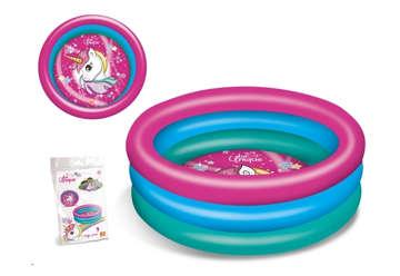 Immagine di Piscina 3 anelli Unicorn 100 cm diametro
