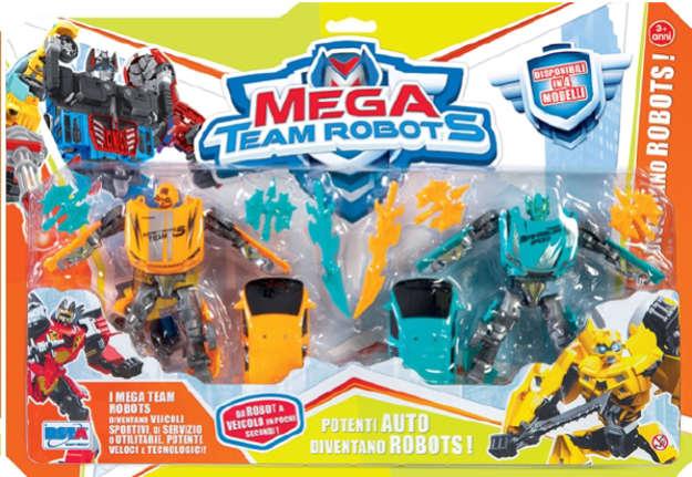 Immagine di Mega team robots set