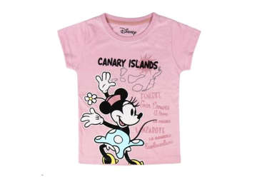 Immagine di T-shirt Minnie Canary Islands rosa tg.3