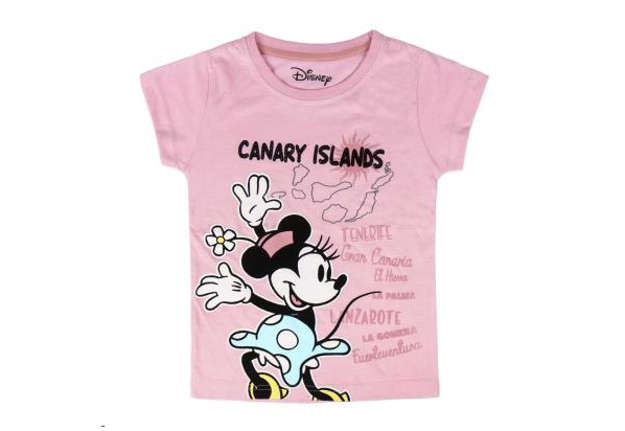 Immagine di T-shirt Minnie Canary Islands rosa tg.4
