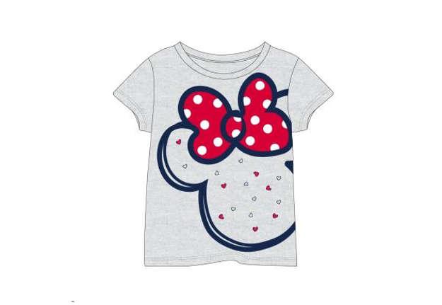 Immagine di T-shirt Minnie fiocchetto grigia tg.5 anni