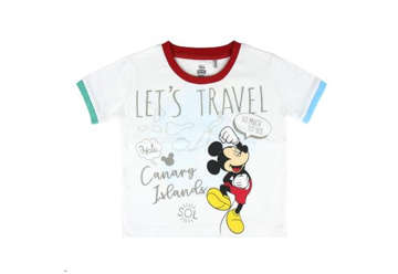 Immagine di T-shirt Mickey Mouse bianca tg.12 anni