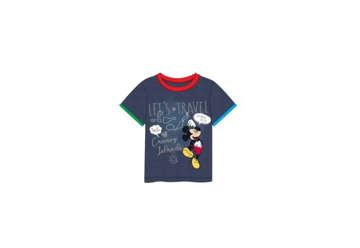 Immagine di T-shirt Mickey Mouse blu tg.4 anni