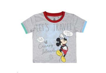 Immagine di T-shirt Mickey Mouse grigia tg.6 anni