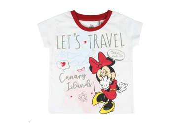 Immagine di T-shirt Minnie bianca tg.12