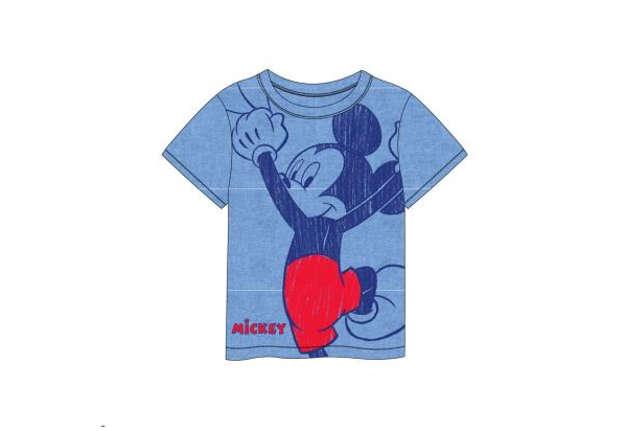 Immagine di T-shirt Mickey Mouse azzurra tg.5 anni