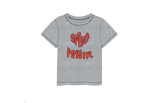 Immagine di T-shirt Spiderman grigia tg.4 anni