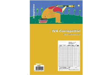 Immagine di Registro iva corrispettivi 25x2 autoricalcanti 2 anni