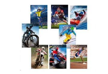 Immagine di Quaderno A4 Sport quadretti 4M