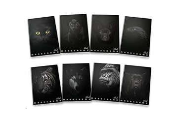 Immagine di Quaderno A4 Black 1 rigo con margine 0C