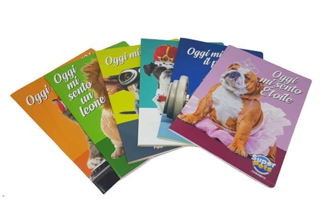 Immagine di Quaderno A4 Super pets quadretti 10M