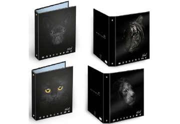 Immagine di Raccoglitore ad anelli A4 Black 3cm dorso