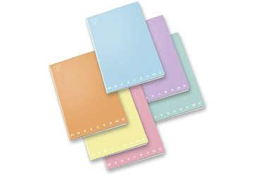Immagine di Quaderno A4 Pastel 1 rigo con margine 0C
