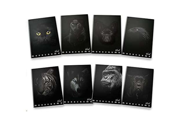 Immagine di Quaderno A4 Black quadretti 5M