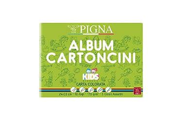 Immagine di Album Pigna kids 10 fogli colorati