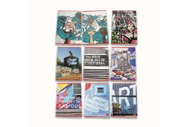Immagine di Quaderno A4 Writing on the wall quadretti 5M