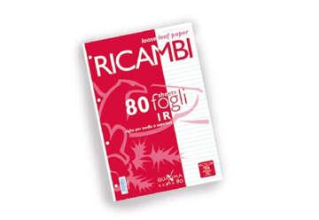 Immagine di Ricambi Pigna A4 1 rigo 80fogli