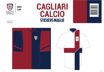Immagine di Kit stickers maglia Cagliari 1920