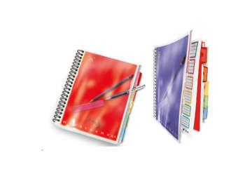 Immagine di Quaderno A4 spirale All In con divisori