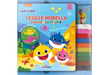Immagine di Baby Shark - Leggi e modella con la plastilina!