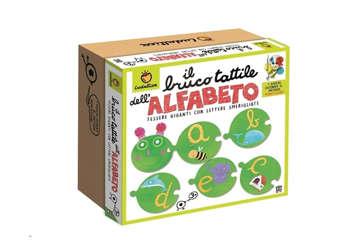 Immagine di Giochi Montessori - Il bruco tattile dell'alfabeto