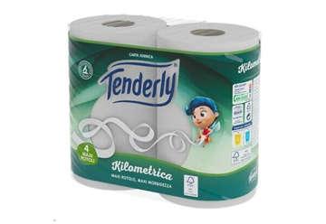 Immagine di Carta igienica Tenderly 4 rotoli