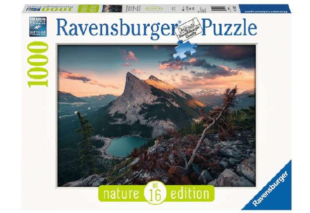 Immagine di Puzzle Tramonto in montagna