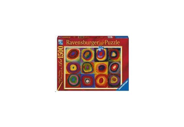 Immagine di Puzzle Kandinsky: Studio sul colore 1500pz