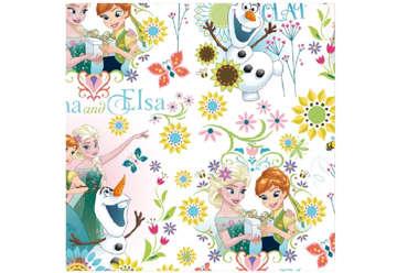 Immagine di Foglio carta regalo Frozen 70x100cm