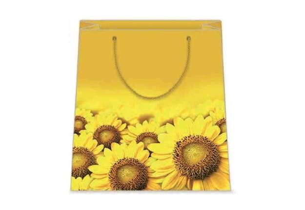 Immagine di Shopper girasoli 31,5x45x12cm XL