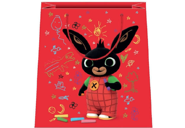 Immagine di Shopper Bing rosso 31,5x45x12cm