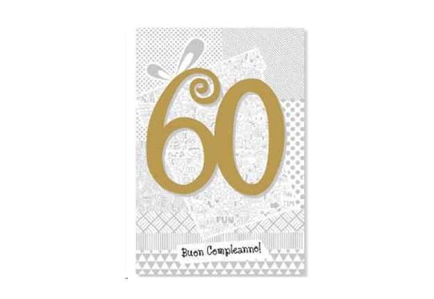 Immagine di Biglietto buon compleanno 60 anni