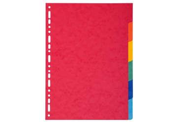 Immagine di Divisorio in ppl colorato 6pz