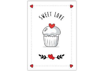 Immagine di Biglietto Amore dolcetto