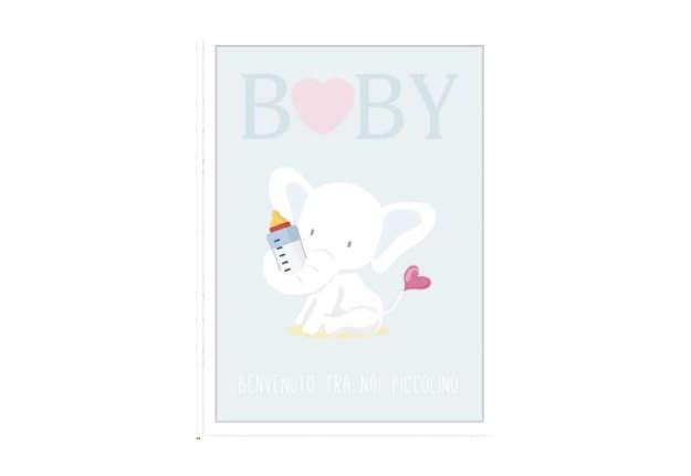 Immagine di Biglietto auguri nascita bimbo