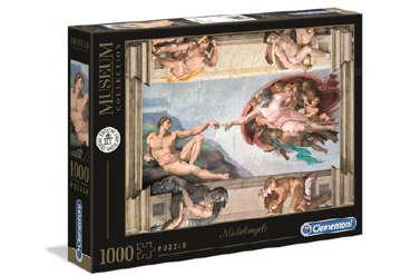Immagine di Puzzle Michelangelo - Creazione dell'uomo 1000pz