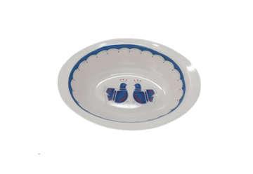 Immagine di Lavafrutta ovale pavoncelle sarde cm 25 100gr