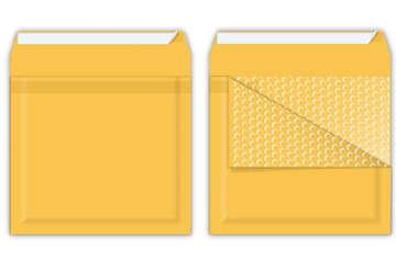Immagine di Busta a sacco avana con bolle aria 180x165mm interno