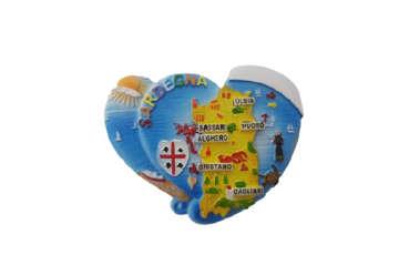 Immagine di Magnete doppio cuore
