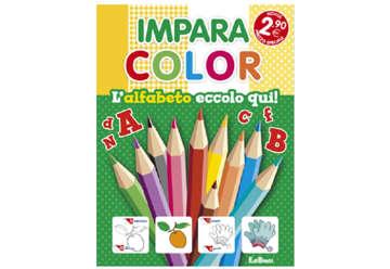 Immagine di Impara color - L'alfabeto eccolo qui!