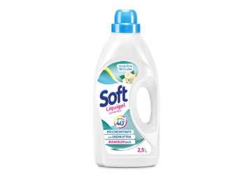 Immagine di Soft detersivo lavatrice muschio delicato 45lavaggi