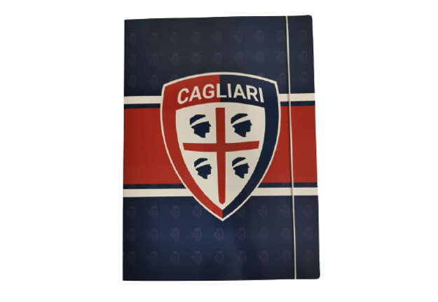 Immagine di Cartellina con elastico Cagliari 1920