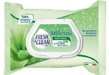 Immagine di Salviettine Milleusi Fresh & Clean Natural pop-up 20pz