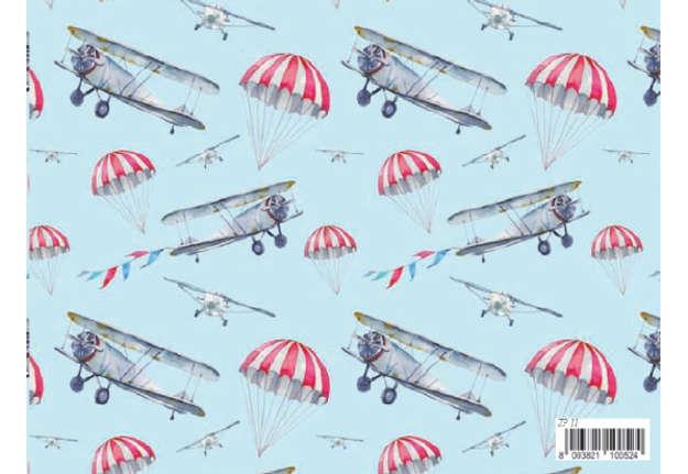 Immagine di Foglio carta regalo Florentia - Aeroplano 70x100