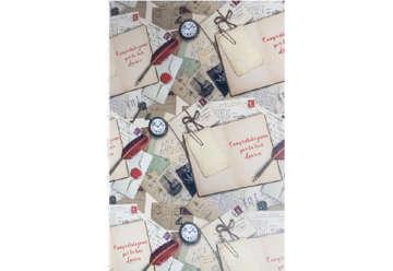 Immagine di Foglio carta regalo Laurea - Orologio 70x100