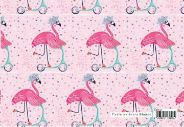 Immagine di Foglio carta regalo Design dolci chicche - Fenicottero 70x100