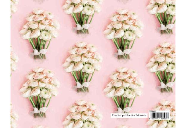 Immagine di Foglio carta regalo Flowers - Bouquet 70x100