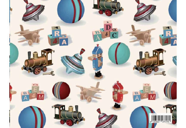 Immagine di Foglio carta regalo Florentia - Giochi 70x100